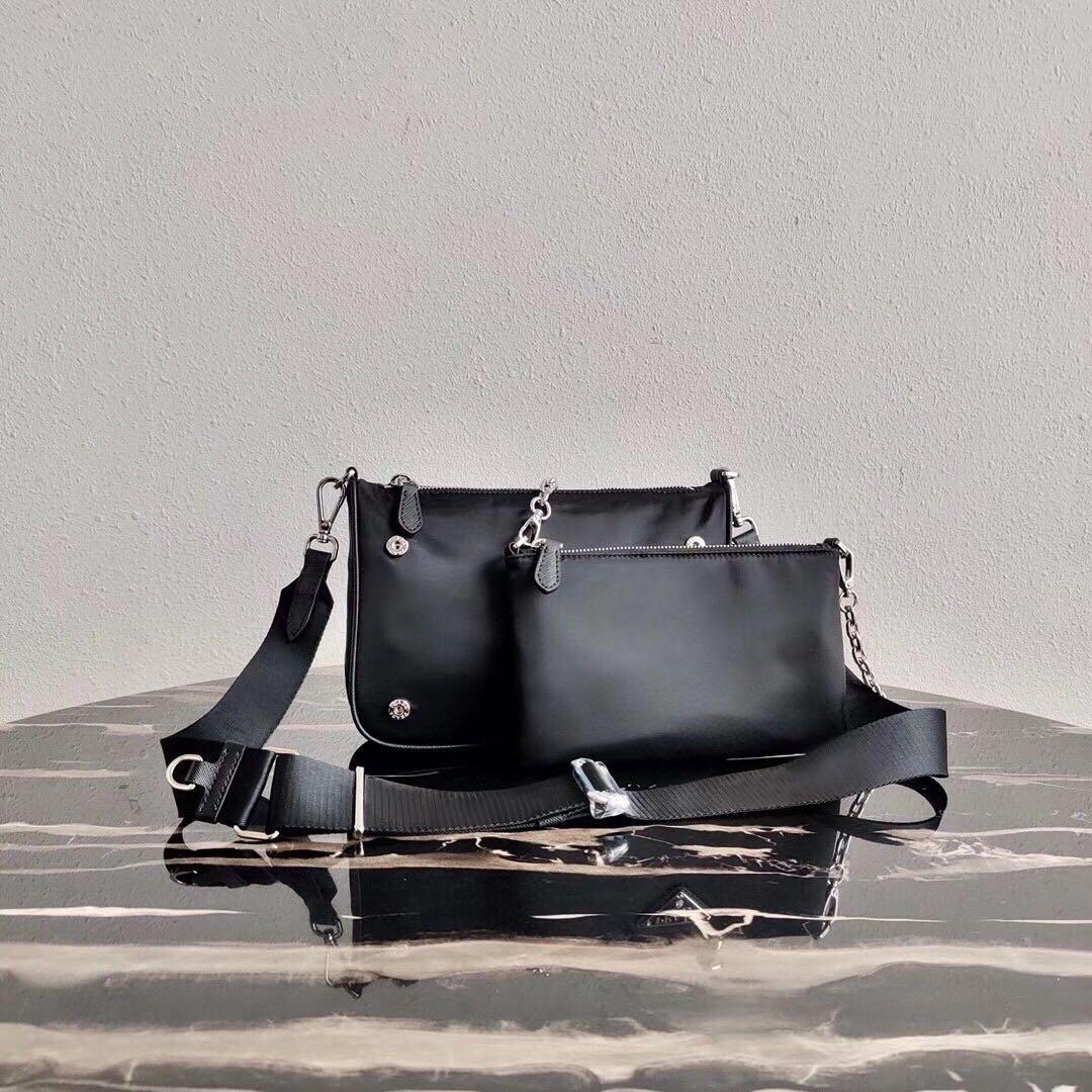 La bolsa de mensajero de 2 piezas bolso de la señora de la moda bolsa compuesta mujeres de lona mochila conjunto para los hombres con presbicia paquete de mini hobo de las mujeres cuerpo cruzado