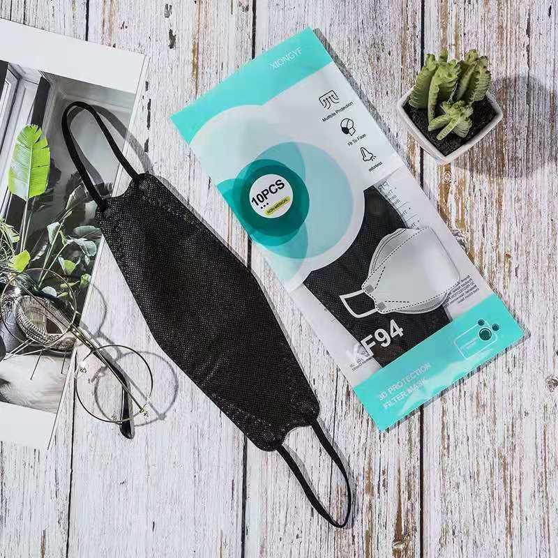 Maschere viso KF94 Mask for Children o adulto antipolvere e protezione respirabile a forma di salice a forma di salice spedizione gratuita DHL spedizione gratuita