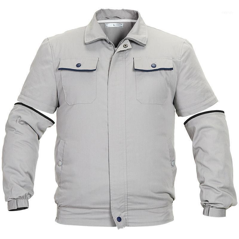Paratago 2020 vente chaude Veste de refroidissement estival à manches réglantes Vestes de ventilateur mince manches longues pour hommes de travail pour femmes PC1261