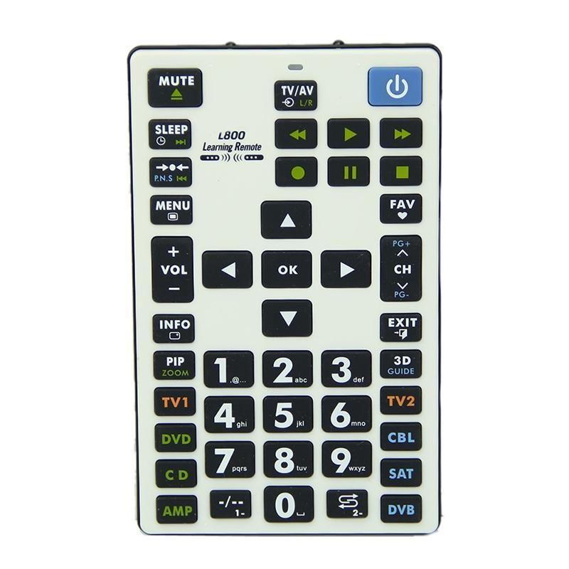 CHUNGHOP Aprendizagem Controle Remoto Controle 8 Devices L800 Para TV SAT DVD