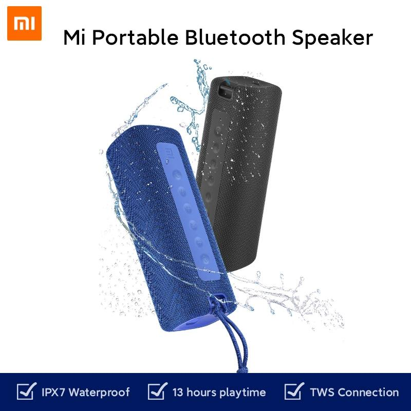 Xiaomi Mi Portable Bluetooth Speaker 16W TWS Connection High Quality Sound IPX7 Waterproof 13 hours playtime