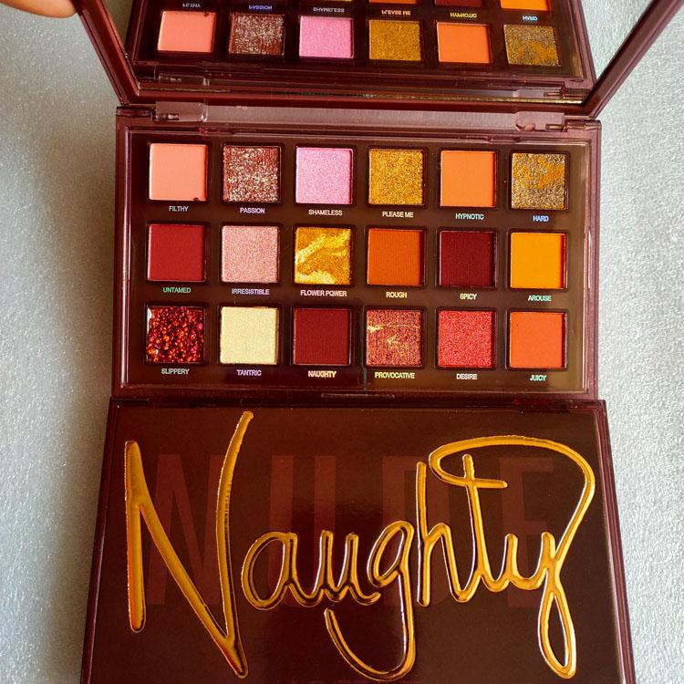 Naughty NUDE 18colors eyeshadow Shimmer Matte 18colors eyeshadow palette DHL free shipping