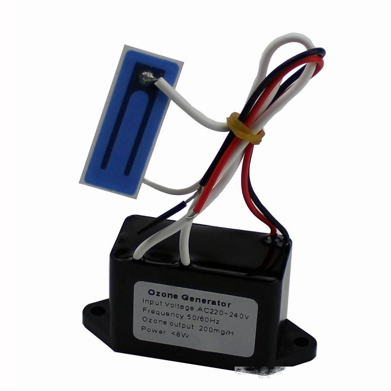 Carro Purificadores de ar New Ozone gerador portátil 220V DC12V 200mg Long Life placa cerâmica ozonizador portáteis purificadores de ar