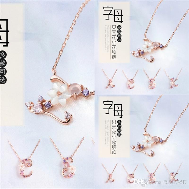 Jewels arsa orsa Real с серебряным женским языком для девочек ожерелья ожерелья Цветы стерлингового топ-класса кубический циркон