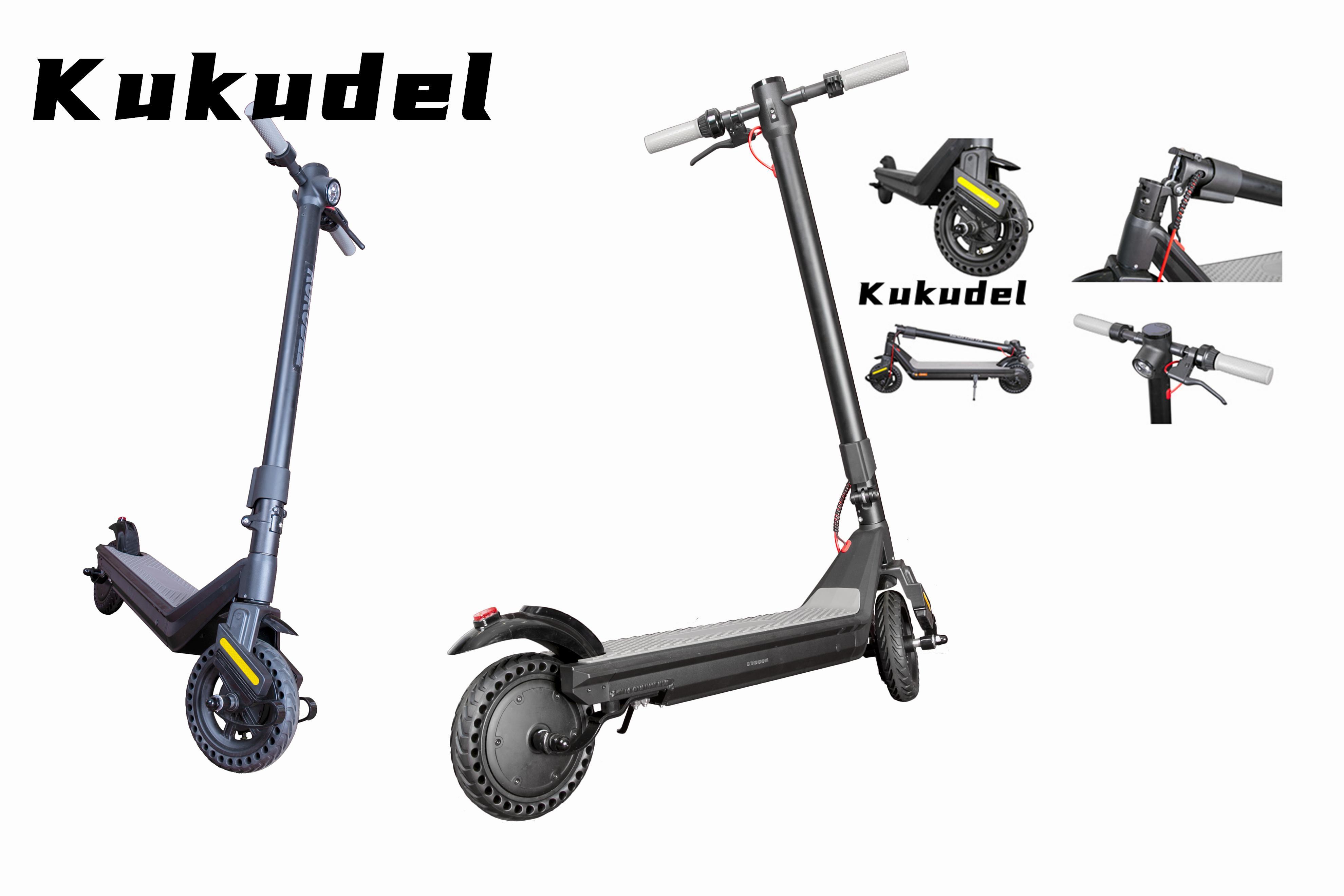 Kukudel-Roller-Marke Neue elektrische Skateboard-Leichtigkeit statt Wanderer Roller Höchstgeschwindigkeit 25km / h Aluminiumlegierung Frame Kick-Roller 03