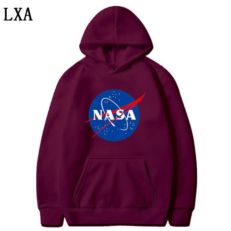 Der neueste Nasa Hoodies Sweatshirts Mode Mäntel Jacken Kapuzenpullis Sweatshirts für Männer und Frauen S-3XL L-13