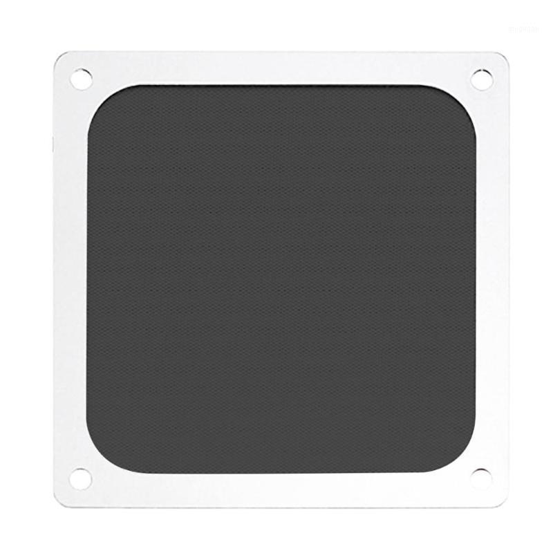 New White Magnético Poeira Filtro de Poeira Malha de Malha de Malha Fan Net Grill Guarda com Buraco para PC Computador Caso Cooling Fan Acessórios1