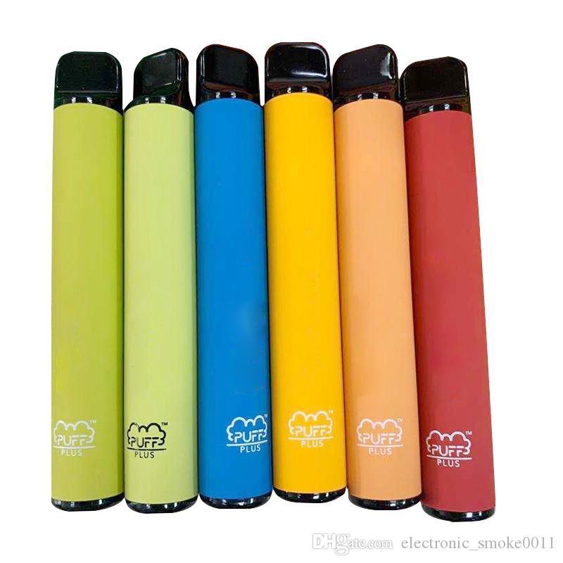 puff bar plus Disposable Vape Mod Battery Pen Puff Bars Plus 550mAh Battery 3.2ml puff 800 plus