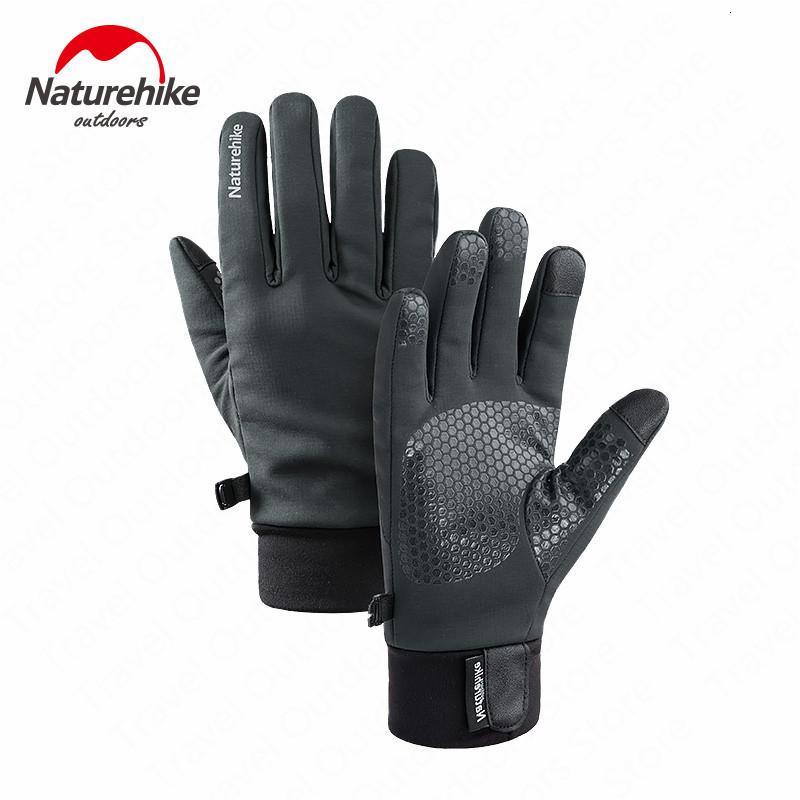 NatureHIKE Sports Hiver Gant tactique d'hiver Antikid Ecran tactile imperméable Gants à vélo chaud à la randonnée en plein air Vélo Moto