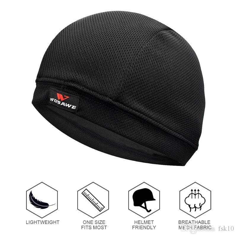 2020 Men Quick-Dry Cycling Cap Bike Hat for Bike Helmet Liner Riding Motorcycle Bandana Balaclava Bicycle Headwear