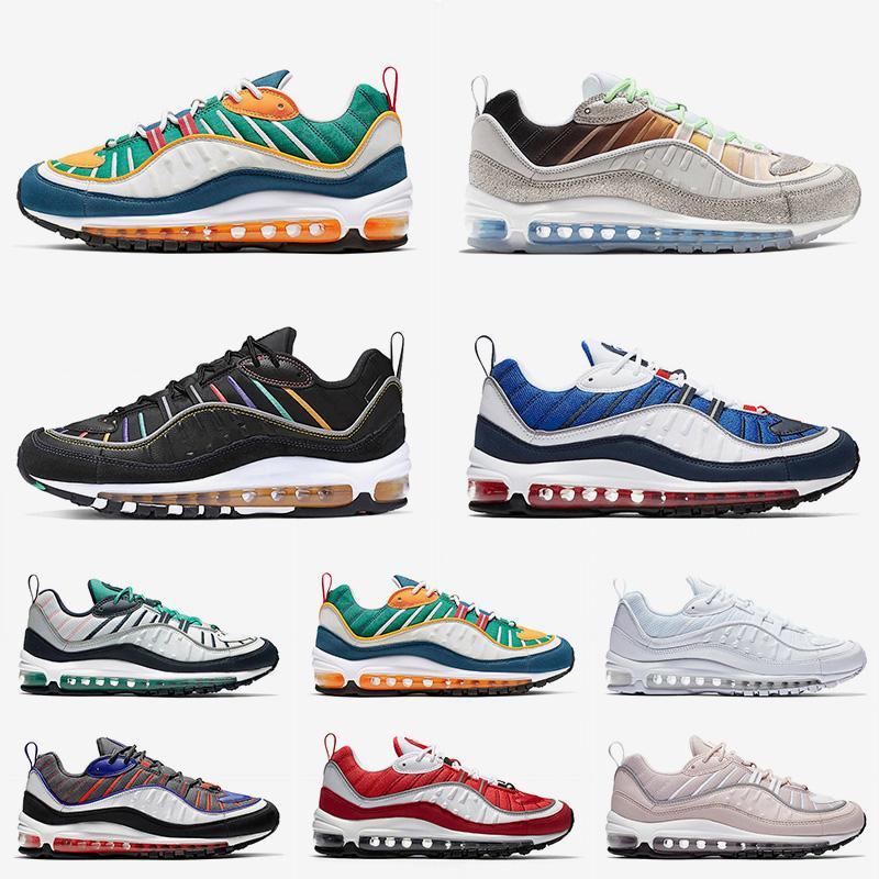 Acheter Nike Air Max 98 Chaussures De Course De Luxe Air Cushions ...
