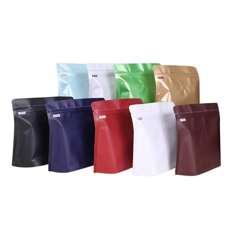 Сумки для хранения Феримо 10 шт. Ступень UP Сумка Кофейная упаковка Алюминиевая фольга Воздушный клапан Пакет