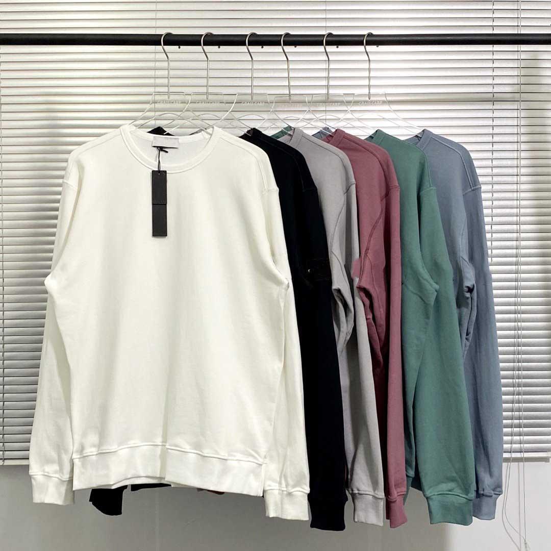 Mode Nouveaux hommes Femmes Sweats à capuche Sweat-shirt avec badge à manches 6 Couleurs Automne Hiver Hommes Femmes Sweats Hoodies Taille M-2XL