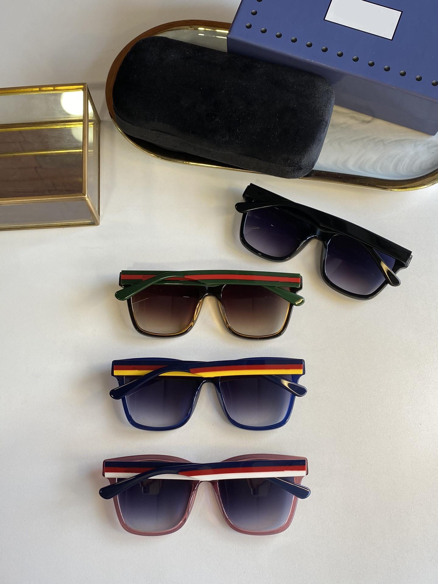 """2021 نمط شعبي صندوق جديد سوبر بارد الاتجاه الرجال والنساء النظارات الشمسية نمور صنعة 0783 حجم 88 """"20"""" 145"""