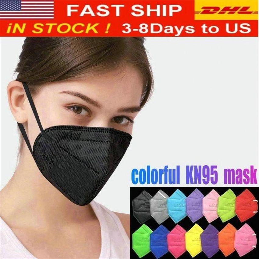 Disponibile! Folding mascherina con qualificata certificazione Anti-polvere PM2.5 maschere facciali all'ingrosso libero veloce il trasporto da DHL