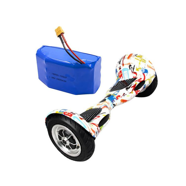 Yüksek Kalite 18650 10s2p 36 V 4.4Ah Lityum İyon Pil Paketi için Hoverboard E-Scooter