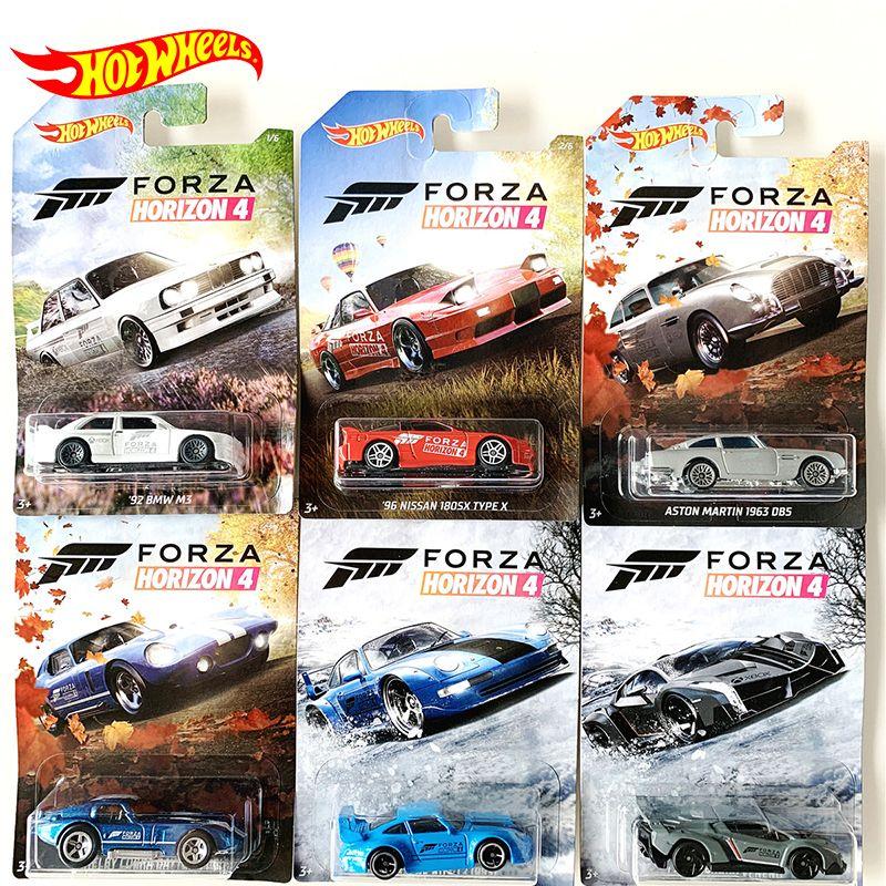 Film Orijinal Sıcak Tekerlekler 1:64 Öfkeli Hızlı ve Kollektör Sürümü Diecast 1/64 Alaşım Modeli Araba Çocuk Boys Forza Oyuncaklar Hediyeler