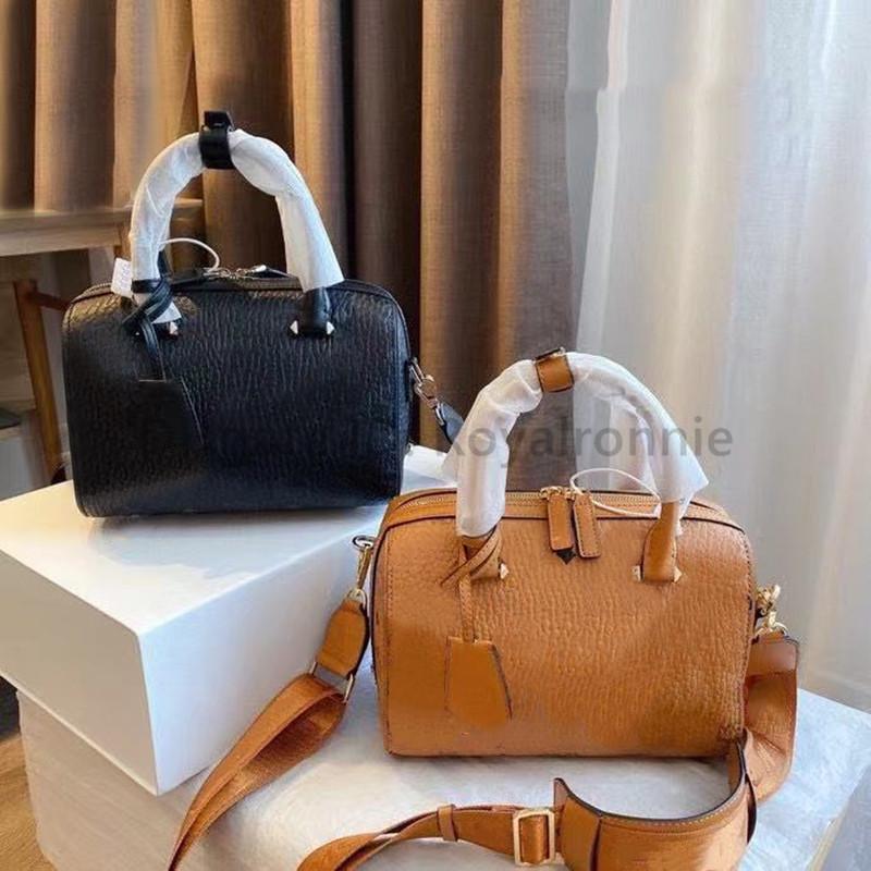 2021 Nouveau H Sacs d'épaule de luxe de luxe Sacs d'épaule en cuir véritable sacs à sacs à main à la mode Lettre 2021 Nouveaux sacs Boston