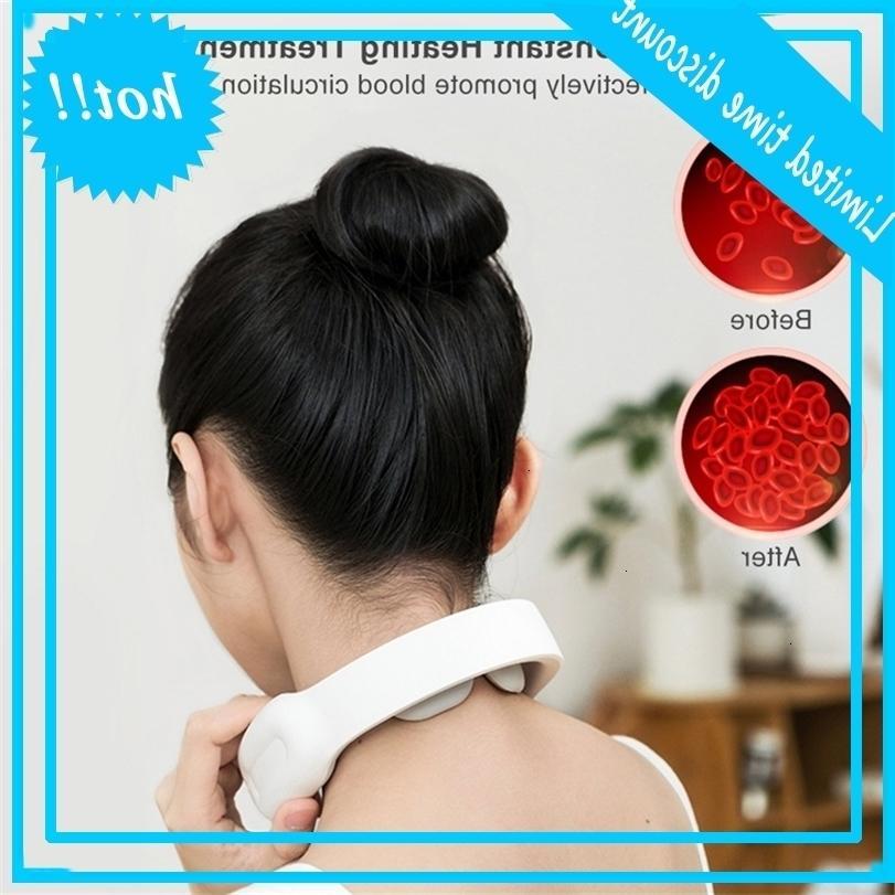 Smart Electric Hee Bearch Massager W Heat Intelligent Wireless Wireless 4D глубокая ткань триггерной точкой Тиспузн низкочастотная терапия.