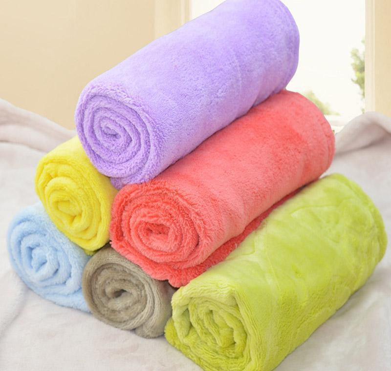 Soft Coral Fleece Pet Blanket Cute Puppy Dog Cat Bed Mat Warm Comfy Kennel Mat For Small Medium And Large Dogs Im3L5