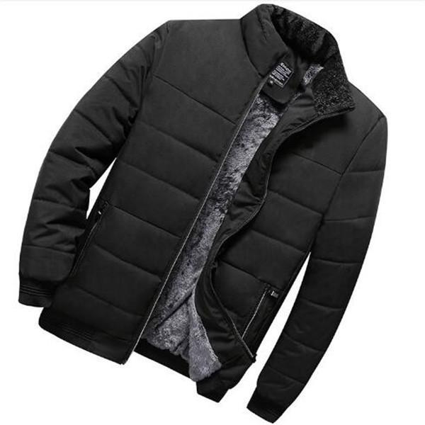 Colletto alla coreana nuovi prodotti inverno caldo di vendita degli uomini più velluto addensare Jacket Warm Cotton Giacchette Abbigliamento da esterno Parka