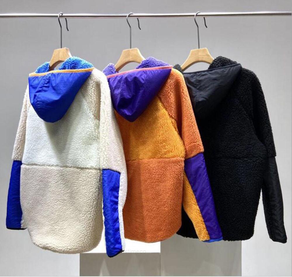 Толстые теплые классические ретро-х осенью продвижение! Мужская зимняя пара ягненка Cashmere флис пальто для мужчин женщин 7659