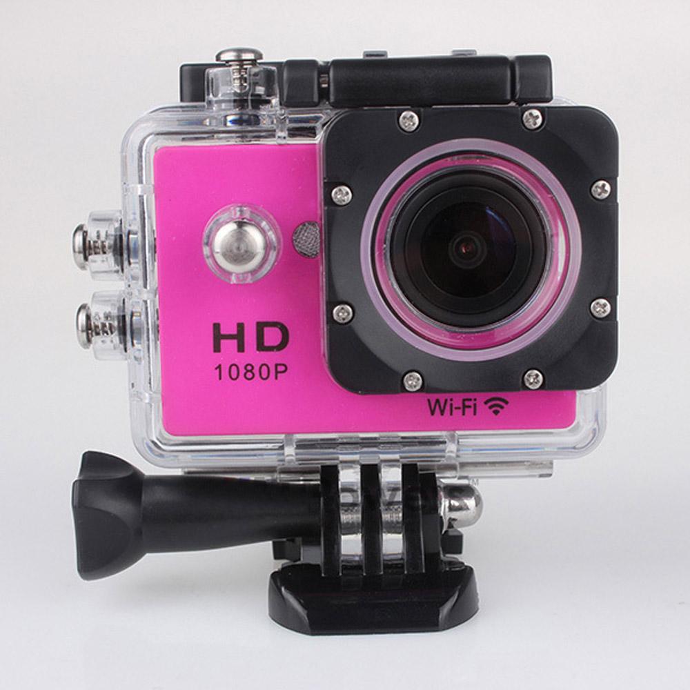 """W9 Sports Camera HD Acción 2 """"WiFi Diving 30 metros Cámaras impermeables 1080P Full HD 170 ° Cámara Cámaras Deporte DV Coche 100 barato"""