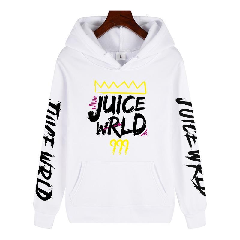 2020 siyah beyaz kırmızı J UICEWrld kapşonlu sweatshirt suyu wrld suyu wrld juicewrld tuzak rap gökkuşağı sorun suyu Dünya