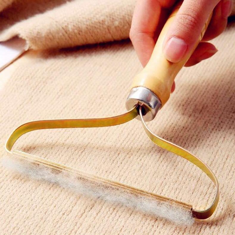 Manuale Lint Remover Vestiti Fuzz Tessuto Rasoio Rasoio Trimmer Rimozione Rullo Rullo Pennello Brush Brush Strumenti di pulizia Mare Shipping W73