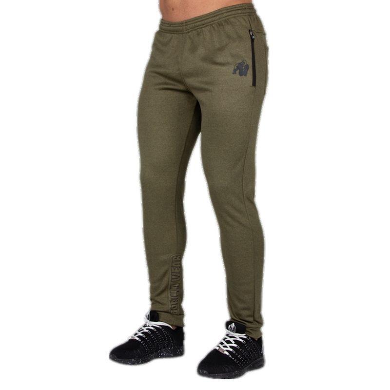 Pantalones de chándal para hombres bolsillos de color sólido pantalón pantalones casuales hombres ropa joggers pantalones hombre moda apretado lápiz pantalones y200114