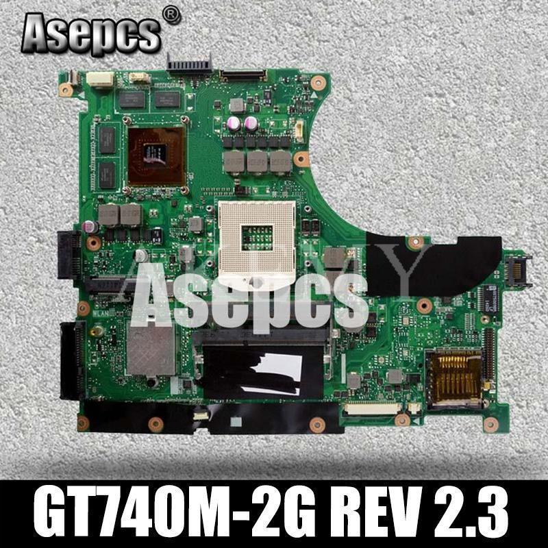 ASEPCS N56VB / N56VM Placa base portátil para ASUS N56VM N56VZ N56VJ N56VV PRUEBA ORIGINAL PROPORTADOR Soporte I3 GT740M-2G1
