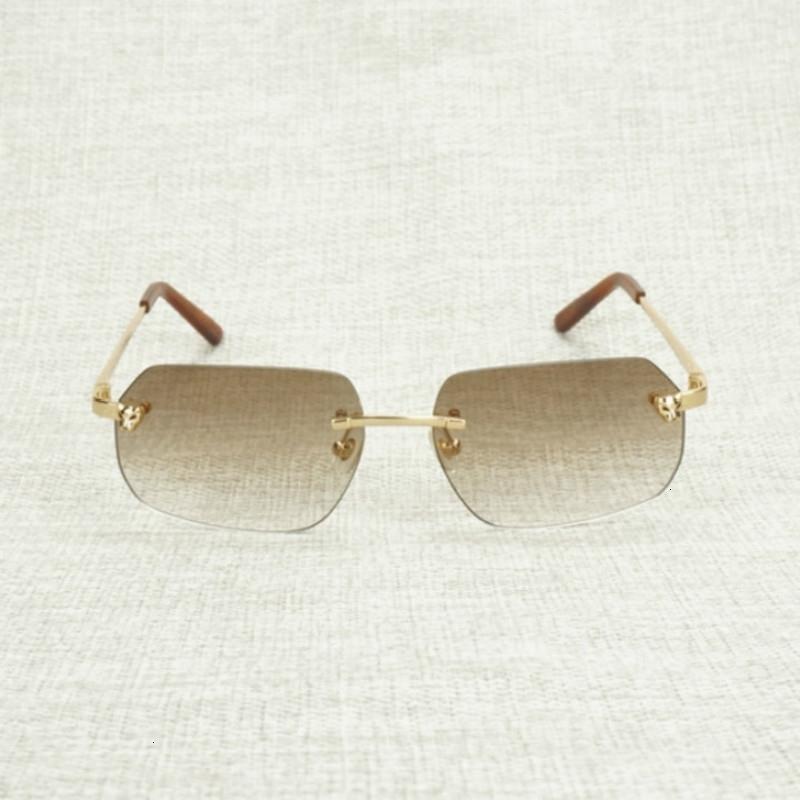 Очки аксессуары леопарда солнцезащитные очки новая линза формы Oculos роскошный стиль женщины кадр оттенки металл для уличных мужчин дешевле Gafas Rooms VOSW