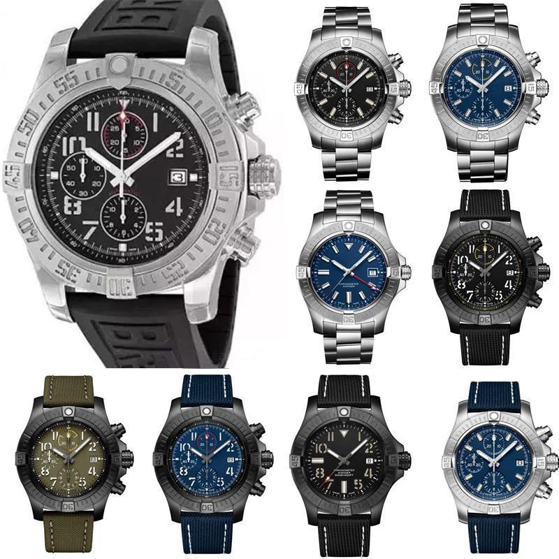 Neue Mode Männer Damen Frauen Designer Mens Diamond Super Avenger II 1884 Quarz Armbanduhr Bewegung Uhr Uhren