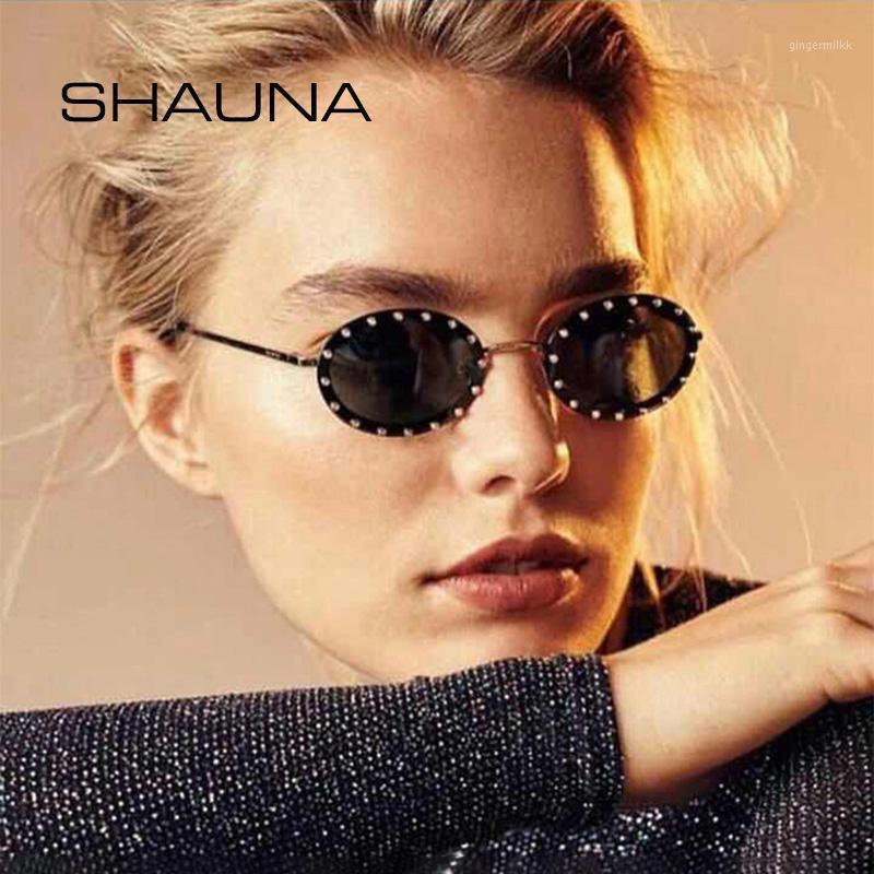 Occhiali da sole Shauna Luxury Crystal Oval Women1