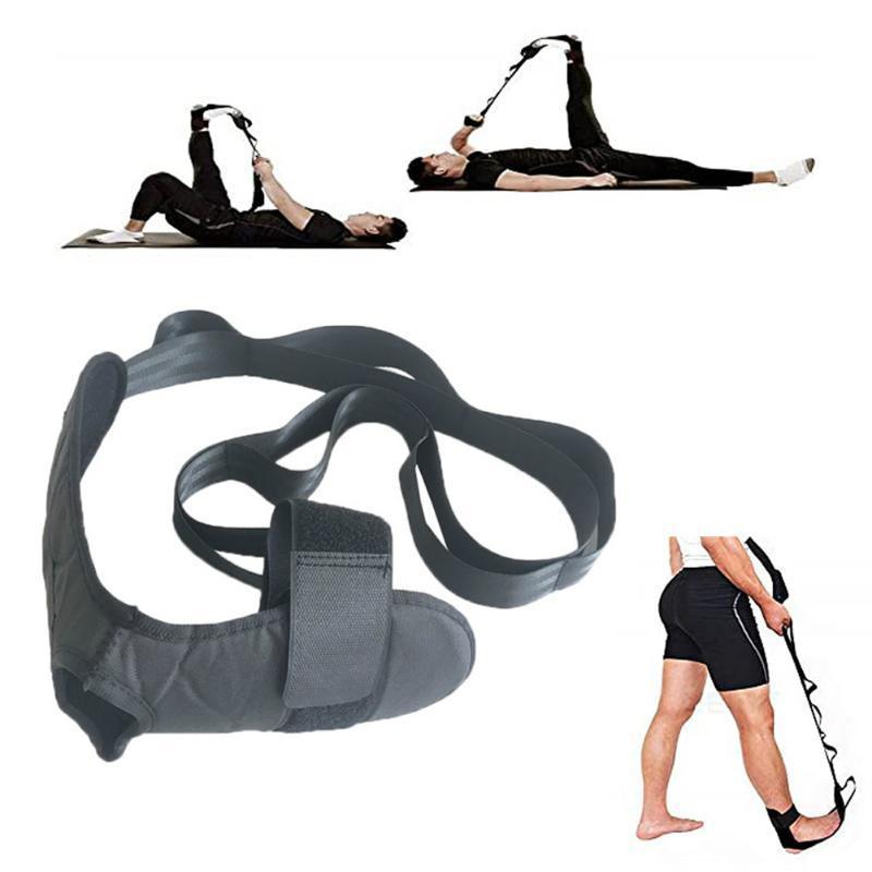 Bandes de résistance Ligament Ligament de Yoga Court de réhabilitation Bandes de réhabilitation de la jambe de fasciite de la jambe de la cheville Bretelles de correction de la cheville