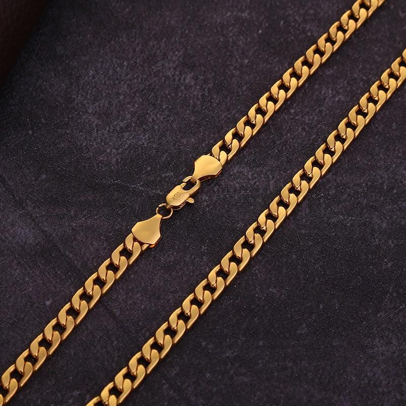 Moda Festa decorações ouro 18k colar colares 16inch-26inch partido presentes bijuterias acessórios partido unissex T3I51219
