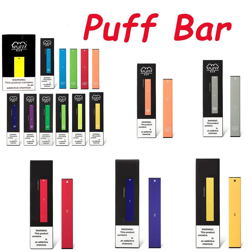 PUFF BAR Disposable device Pod Kit With 280mAh 1.3ml Empty Cartridges 400 PUFFS VS Air Bar posh plus
