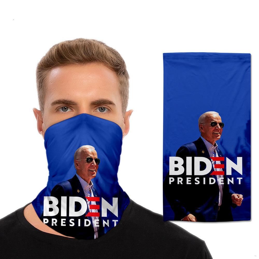 Дизайнер езда защита от солнца шеи маски, 3D печать, многофункциональный шарф магии, Байден нового тканевых масок козырем 2020
