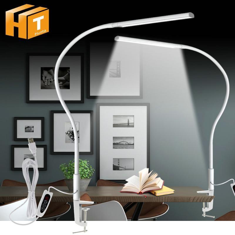 Lampada da tavolo USB Lampada da tavolo Lampada da tavolo Lampada da tavolo Lampada da lettura 3 Colore X5 Livello diminabile Eye-Protection Energy Saving Table