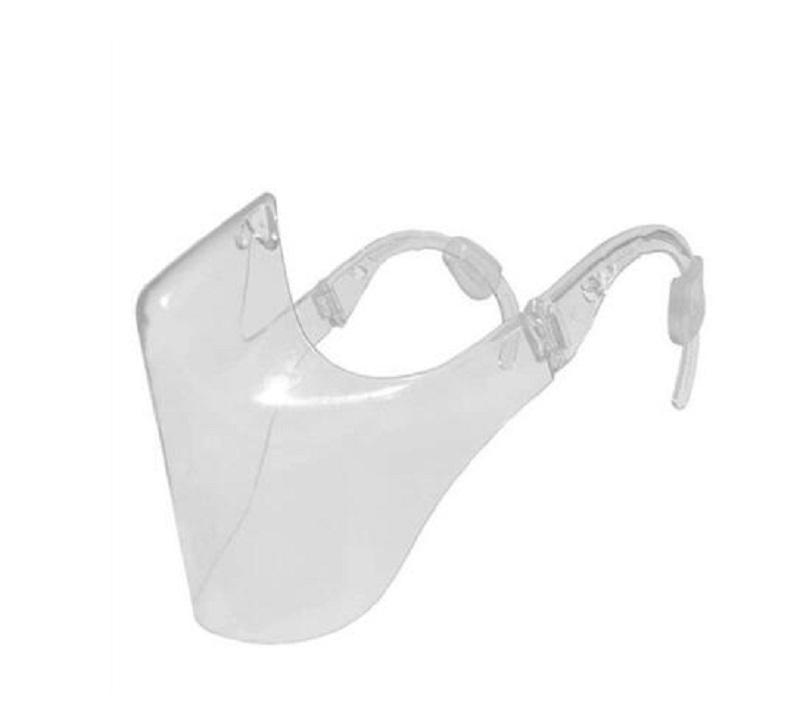 Rapide 2020 Durable Masque Máscara Cyclisme Masque Bouclier Combinez plastique réutilisable Transparent Masque Bandage