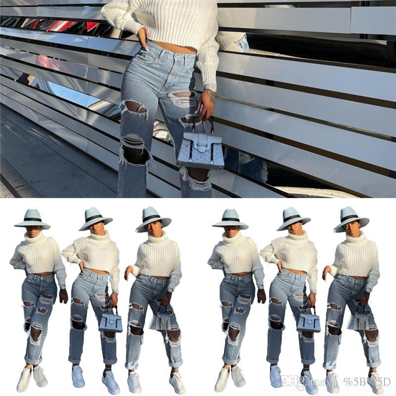 7S9 INS Pantaloni Foro Girls Flare Double-Deck Girls Pantaloni svasati Bambini Jeans Jeans Stampa Leopard Girls Moda Design Bambini Pantaloni per bambini