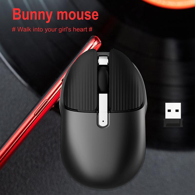 2.4G беспроводной мыши беспроводной мыши компьютер USB Maause аккумуляторные эргономичные ноутбуки MICE регулируемые DPI для Dropshipping
