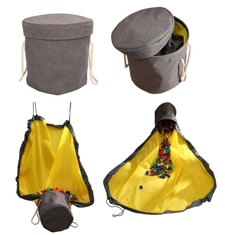 Spielzeug-Speicher-Korb Großes Spielmatte Spielzeug Cleanup Lagercontainer Schnell Cleanup wasserdichte Behälter für Home Kinder Organizer