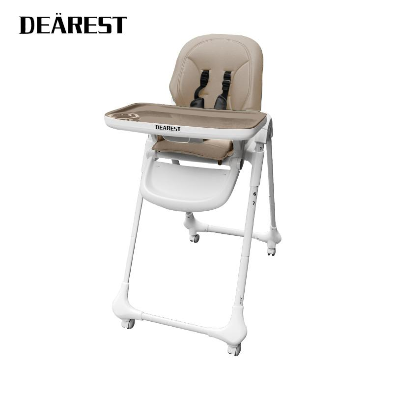 Новые дети обеденные стола и стулья складной сиденья пластиковый ребенок высокий стул LJ201110