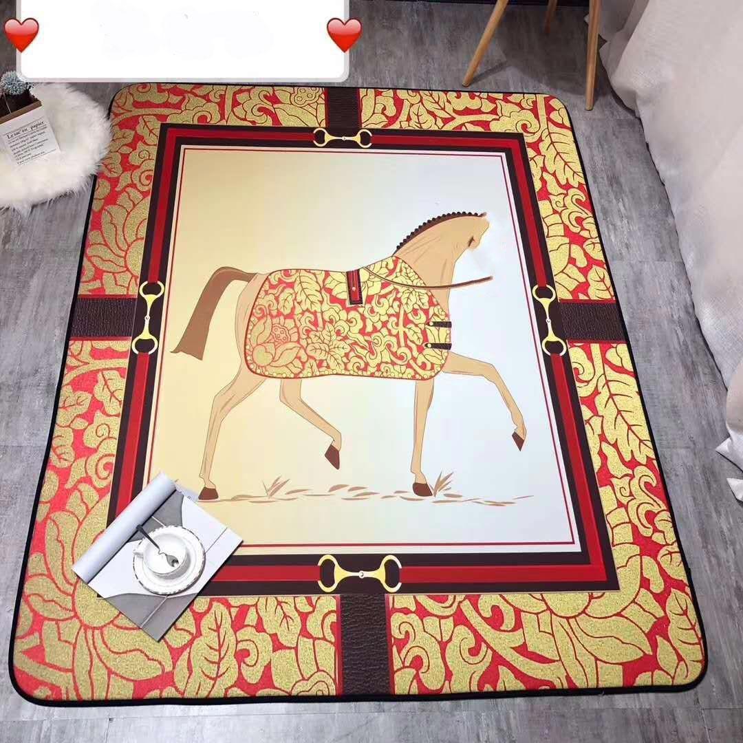 150cmx200cm Nordic 3D impresos Alfombras grandes Lujos de lujo Mats Área blanda alfombras antideslizantes para la sala de estar Decoración de la casa Parlor Alfombra