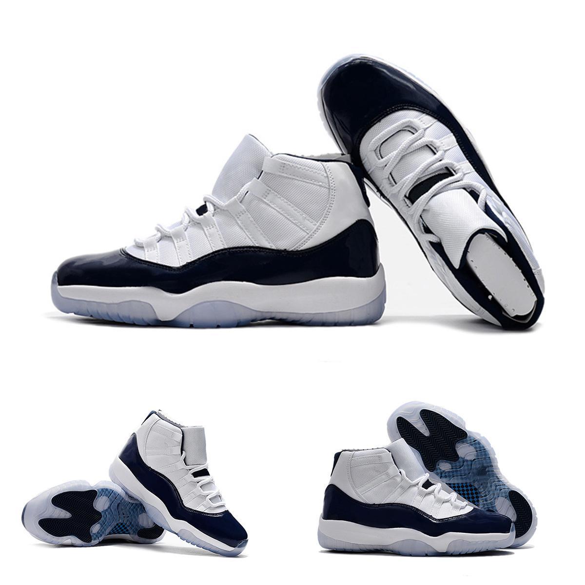 scarpe 11 Palestra Red Chicago Midnight Navy WIN COME 82 UNC Space Jam uomini dei pattini di pallacanestro 11s sport shoes Sneakers