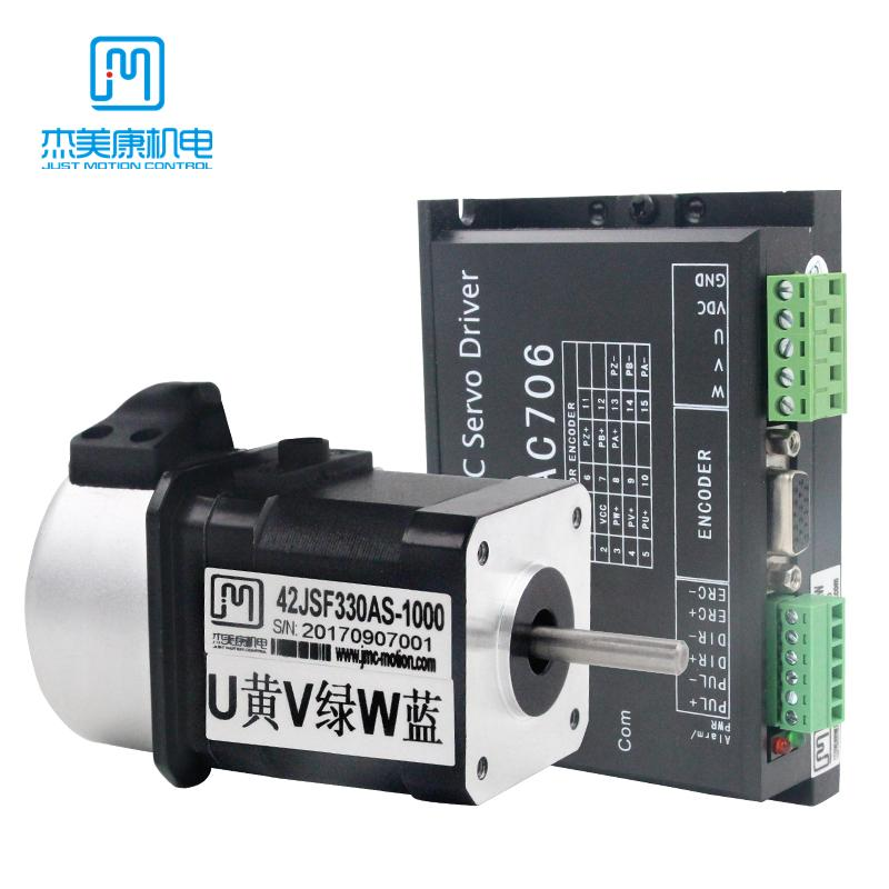 JMC NEMA 17 32W Brushless DC Servo Motor Driver Kit per stampante 3D Macchina per incisione CNC MCAC706 + 42JSF330AS