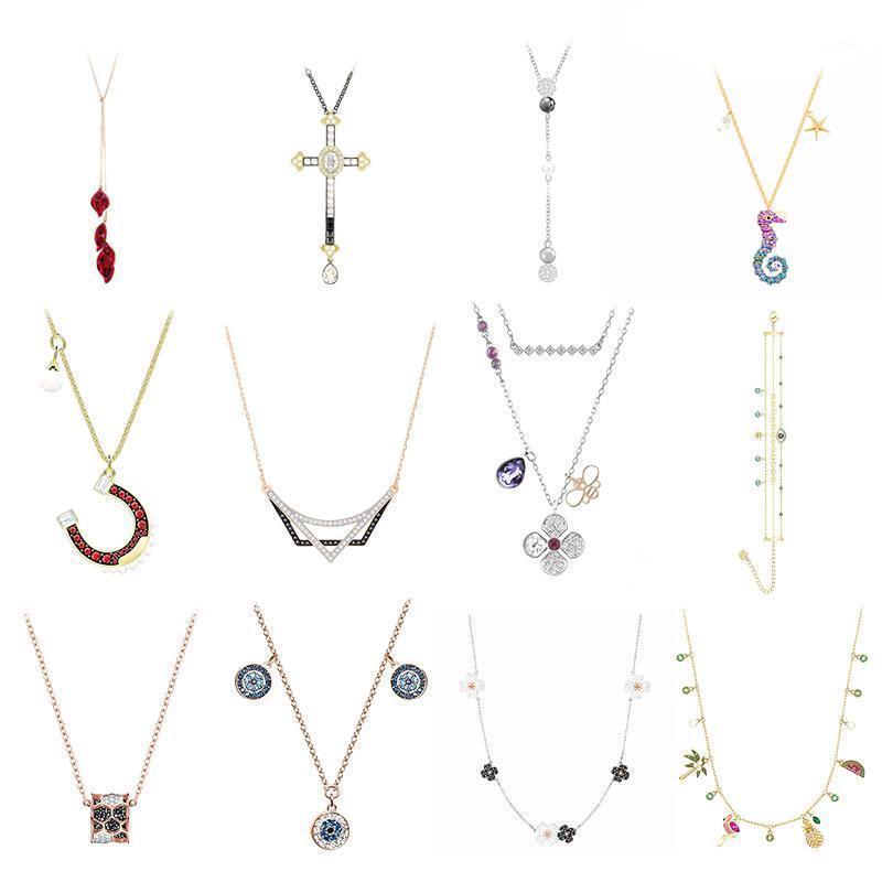 De haute qualité 1: 1 bijoux original de bricolage de bricolage simple moderne mode tendance de mode rouge en forme de u rouge romantique femme diamant.1