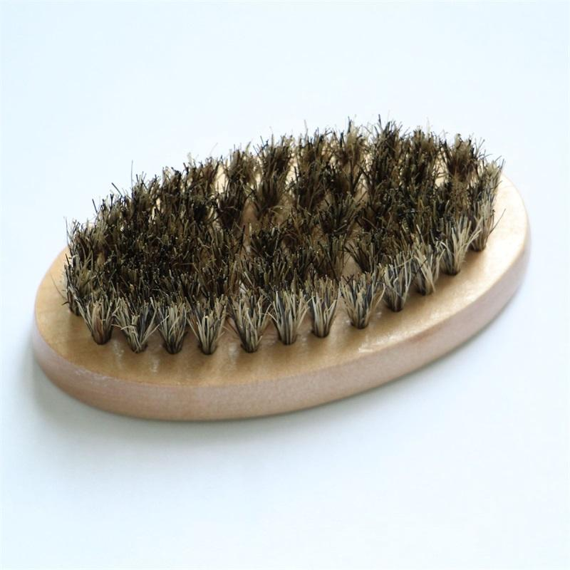 الخشب البيضاوي فرشاة الوجه لا مقبض phylstachys خنزير الشقاعات الخبرة اللحية أدوات الاستمالة هدية فرش الشعر جديد 4 8ZC G2