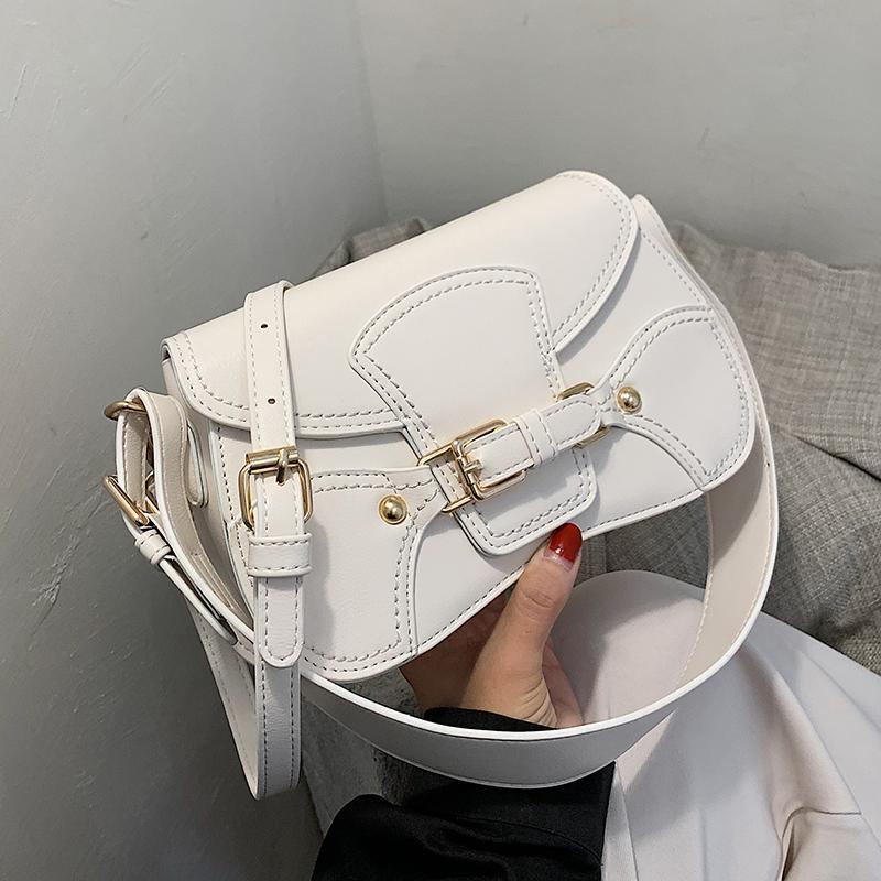 Элегантная женщина площади подмышек мешок 2020 Новая мода высокого качества Кожа PU женщин сумки конструктора путешествия плечо сумка